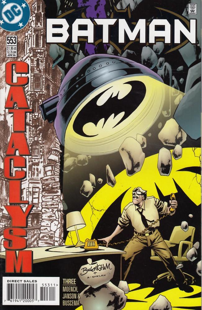 Couverture de Batman Vol.1 (DC Comics - 1940) -553- Cataclysm part three: Lifelines