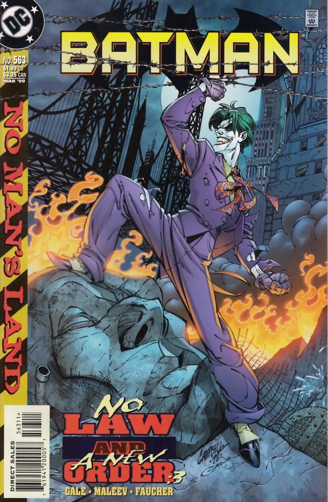 Couverture de Batman Vol.1 (DC Comics - 1940) -563- No law and a new order part three: Tactics