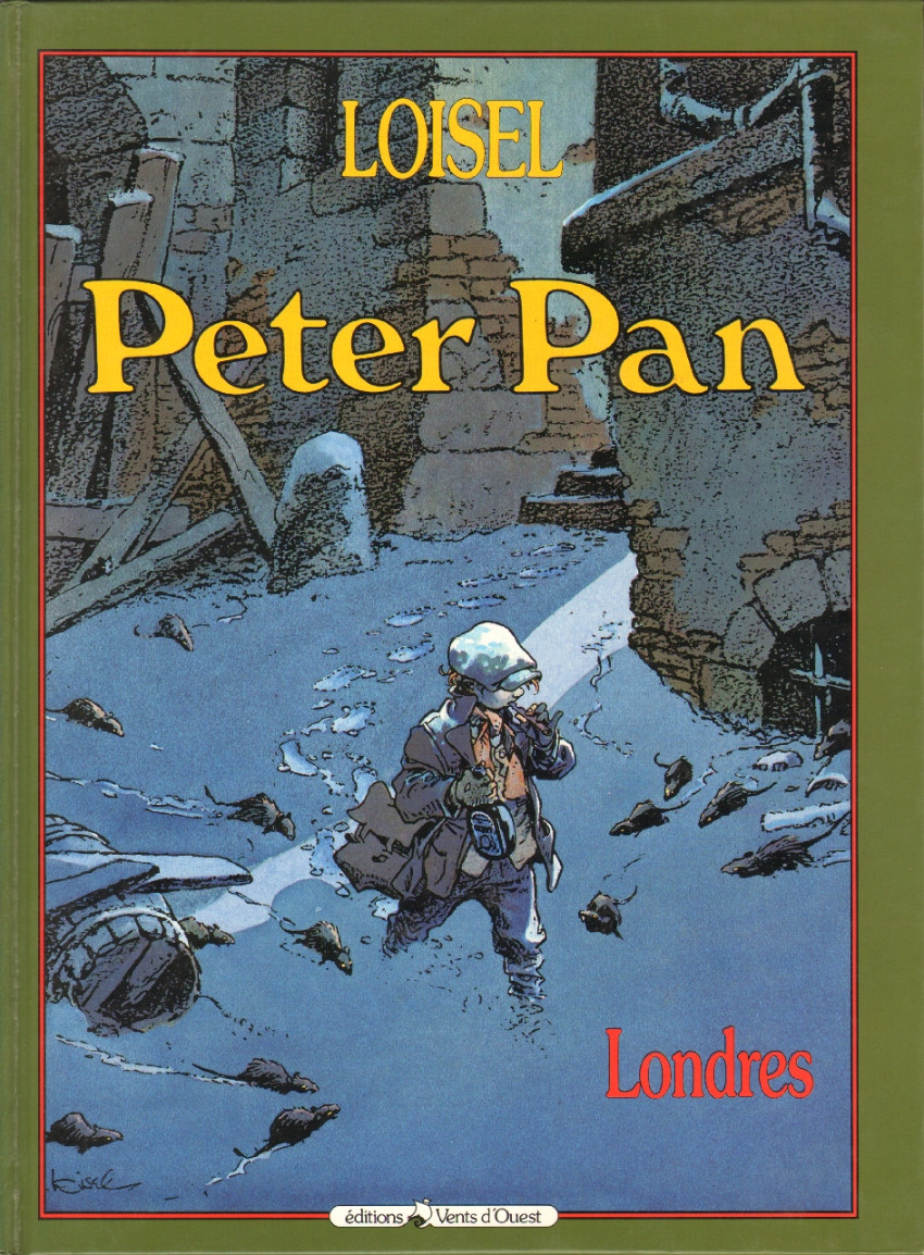 Couverture de Peter Pan (Loisel) -1- Londres