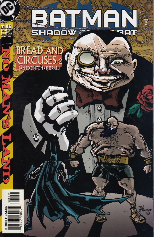 Couverture de Batman: Shadow of the Bat (1992) -85- Bread and circuses part two