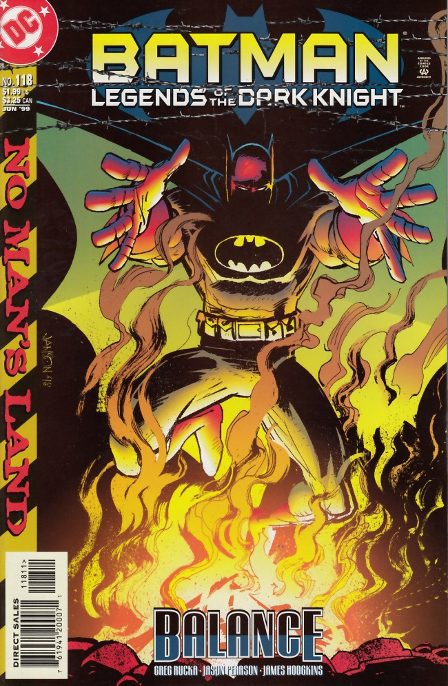 Couverture de Batman: Legends of the Dark Knight (1989) -118- Balance