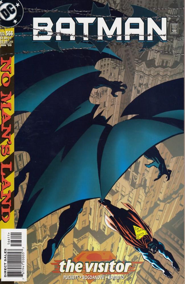 Couverture de Batman (1940) -566- The visitor