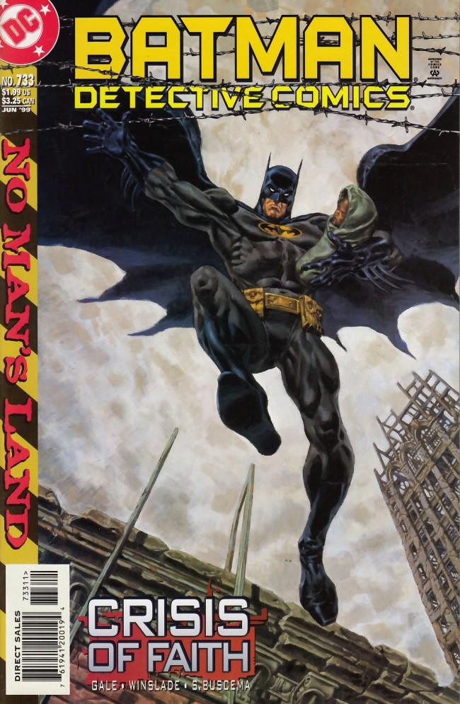 Couverture de Detective Comics (1937) -733- Crisis of faith