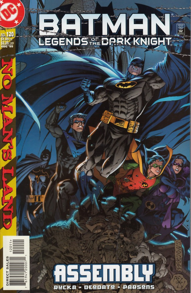 Couverture de Batman: Legends of the Dark Knight (1989) -120- Assembly