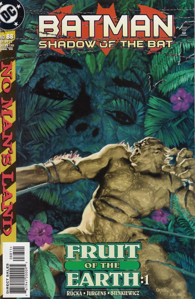 Couverture de Batman: Shadow of the Bat (1992) -88- Fruit of the earth part one