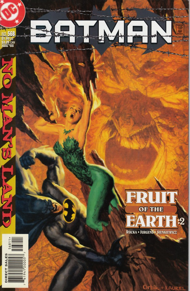 Couverture de Batman (1940) -568- Fruit of the earth part two
