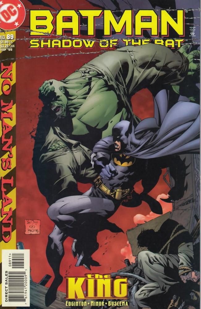 Couverture de Batman: Shadow of the Bat (1992) -89- The king