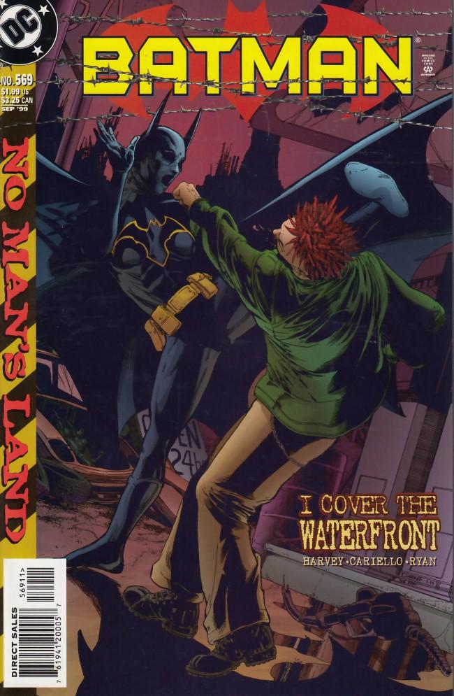Couverture de Batman (1940) -569- I cover the waterfront