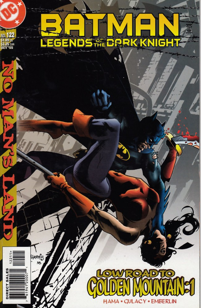 Couverture de Batman: Legends of the Dark Knight (1989) -122- Low road to golden mountain part one