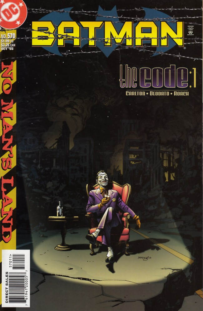 Couverture de Batman Vol.1 (DC Comics - 1940) -570- The code part one