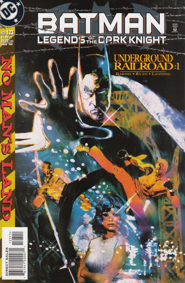 Couverture de Batman: Legends of the Dark Knight (1989) -123- Underground railroad part one