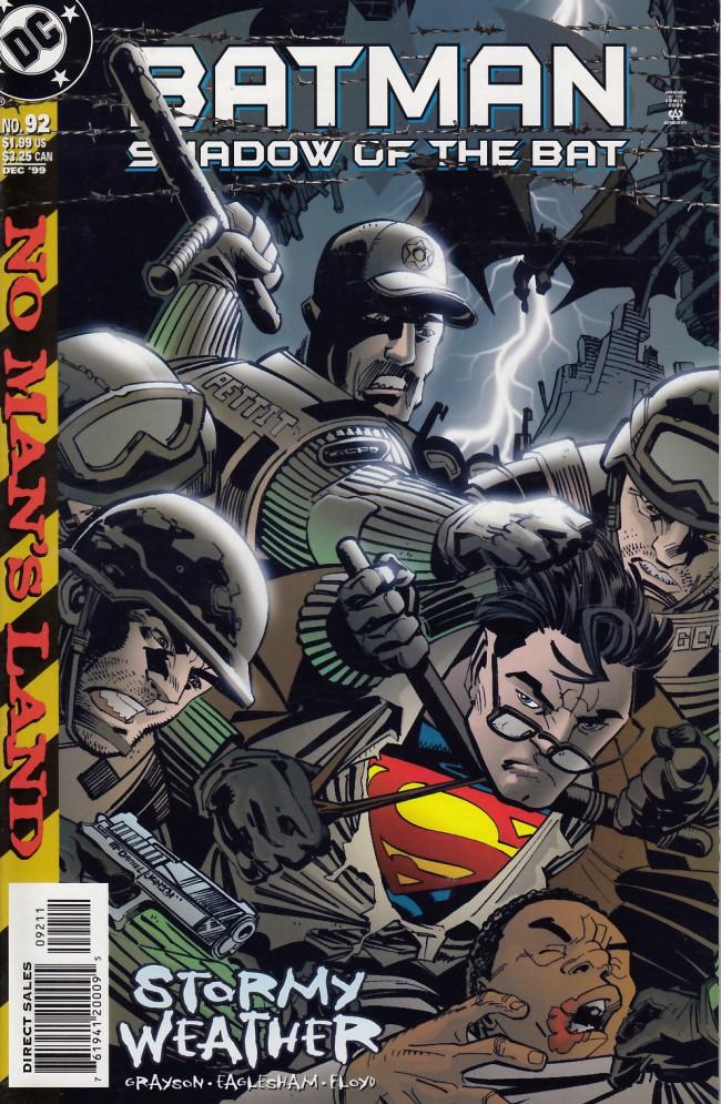 Couverture de Batman: Shadow of the Bat (1992) -92- Stormy wheather
