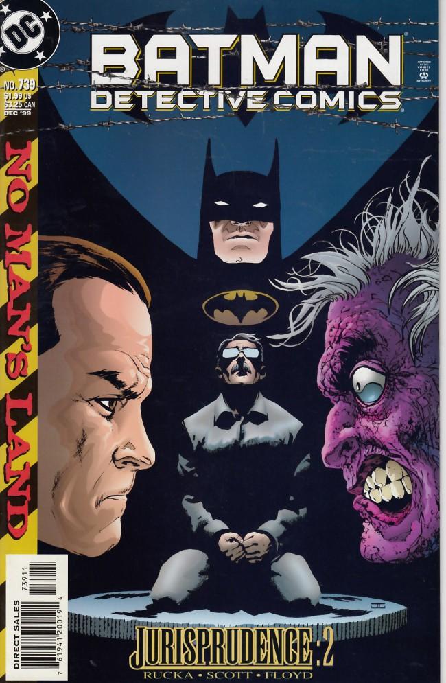 Couverture de Detective Comics (1937) -739- Jurisprudence part two