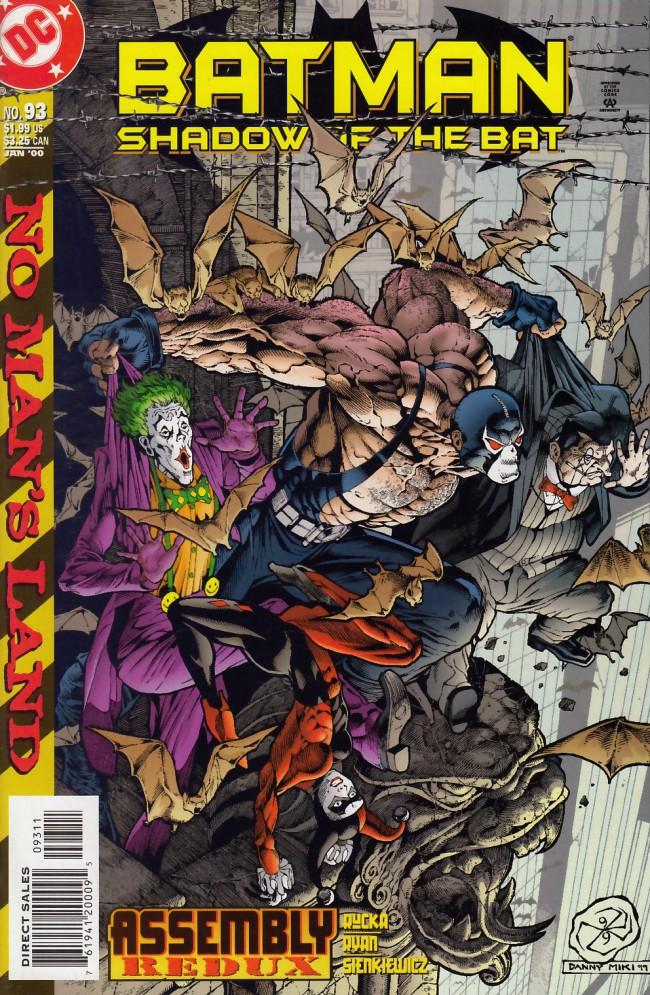 Couverture de Batman: Shadow of the Bat (1992) -93- Assembly redux