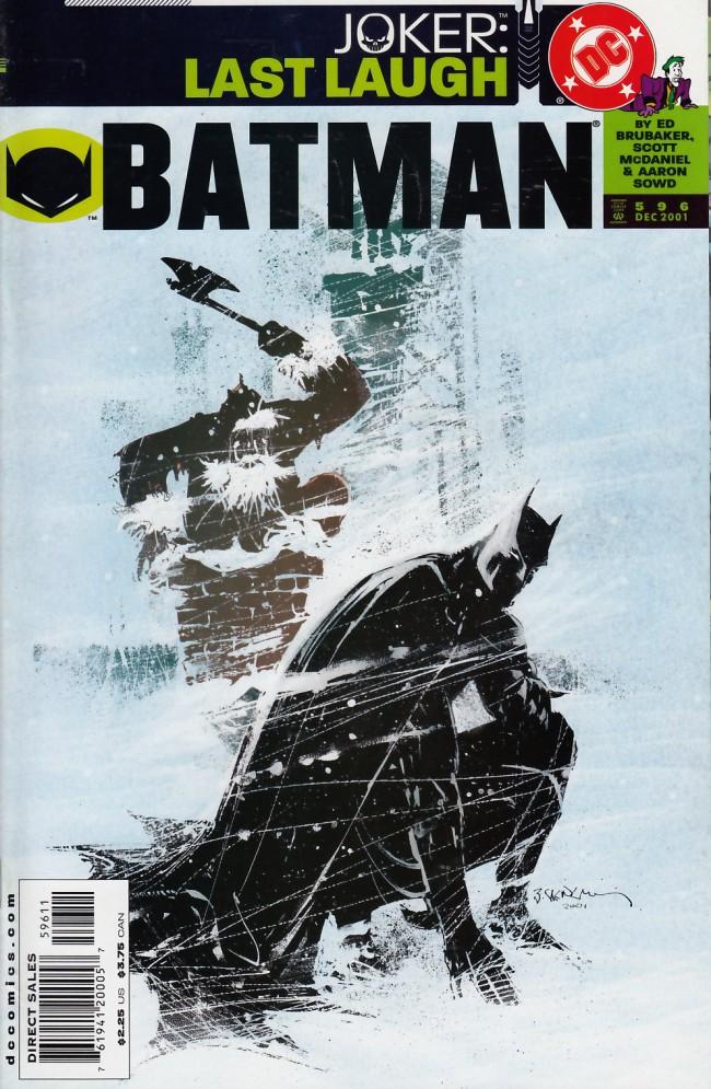 Couverture de Batman (1940) -596- City on fire