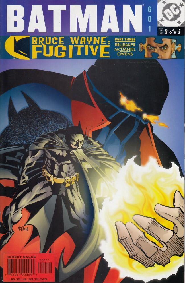 Couverture de Batman (1940) -601- Bruce Wayne: Fugitive part 3