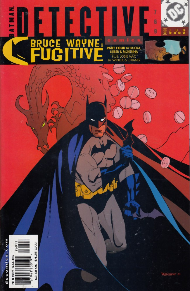 Couverture de Detective Comics (1937) -769- Bruce Wayne: Fugitive part 4