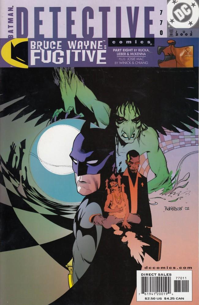 Couverture de Detective Comics (1937) -770- Bruce Wayne: Fugitive part 8