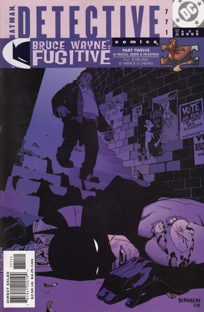 Couverture de Detective Comics (1937) -771- Bruce Wayne: Fugitive part 12