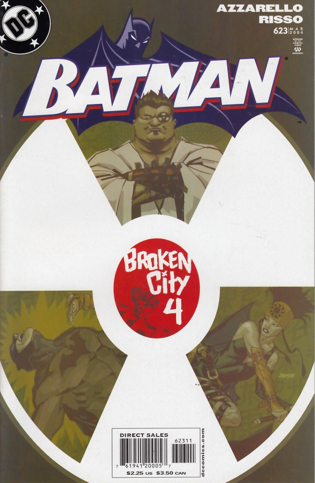 Couverture de Batman (1940) -623- Broken city part 4