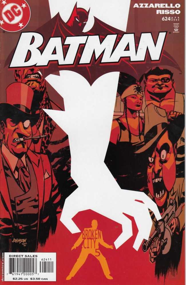 Couverture de Batman (1940) -624- Broken city part 5