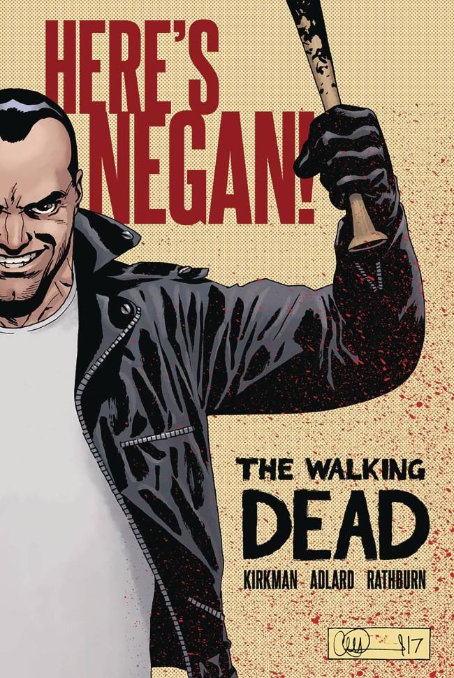 Couverture de Walking Dead: Here's Negan (2017) -INT- Here's Negan!
