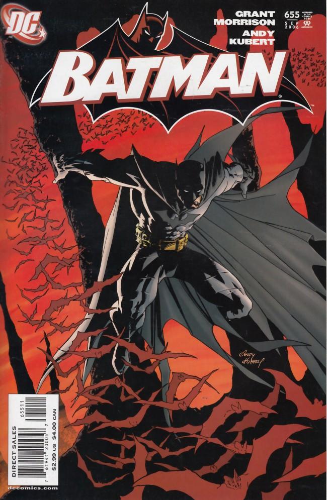 Couverture de Batman (1940) -655- Batman & son part 1: Building a better batmobile