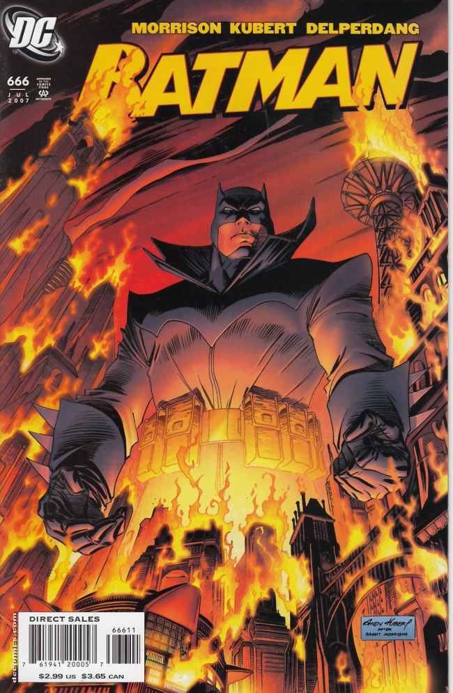 Couverture de Batman (1940) -666- The legend of the batman: who he is and how he came to be...