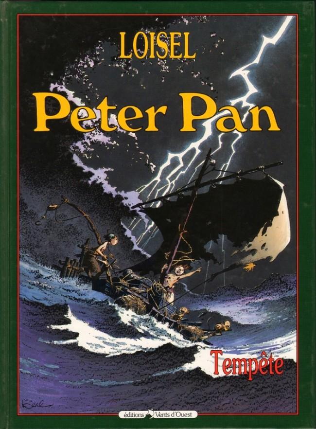 Couverture de Peter Pan (Loisel) -3- Tempête