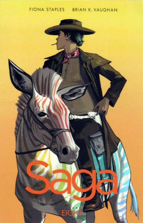 Couverture de Saga (2012) -INT08- Saga - Volume Eight