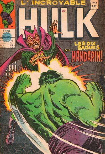 Couverture de L'incroyable Hulk (Éditions Héritage) -2- les dix bagues du mandarin