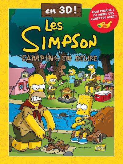 Couverture de Les simpson (Jungle !) -HS6- Camping en délire