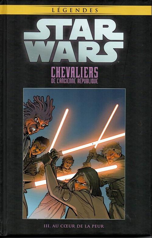 Couverture de Star Wars - Légendes - La Collection (Hachette) -5612- Chevaliers de l'Ancienne République - III. Au cœur de la peur