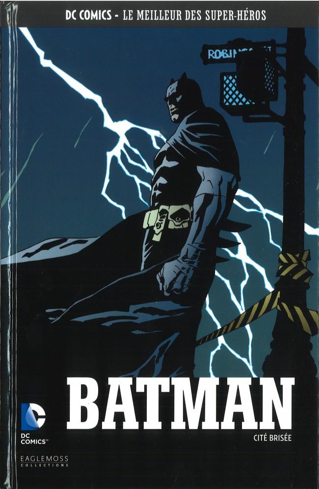 Couverture de DC Comics - Le Meilleur des Super-Héros -61- Batman - Cité Brisée