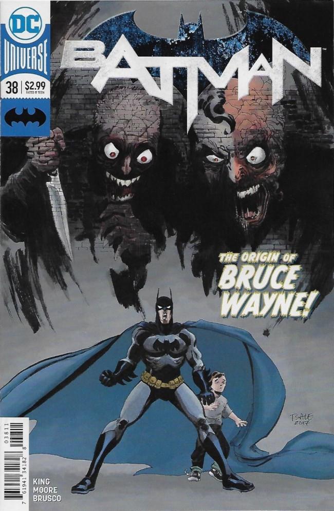 Couverture de Batman (2016) -38- The Origin of Bruce Wayne