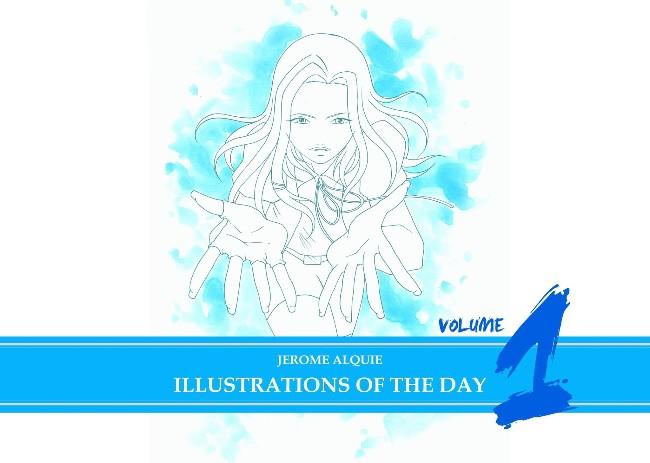 Couverture de (AUT) Alquié -1- Illustrations of the Day - Volume 1