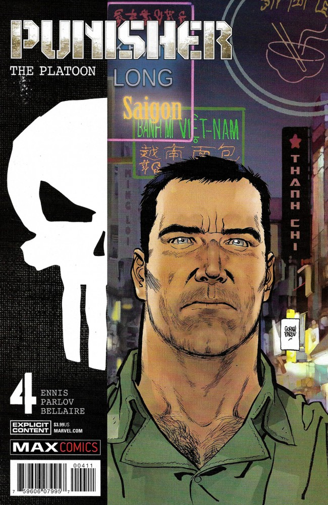 Couverture de Punisher MAX : The Platoon (Marvel comics - 2017) -4- Absolute Consequences