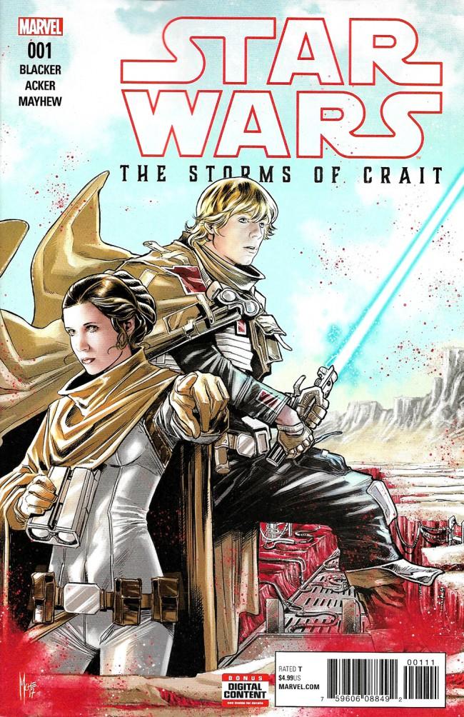 Couverture de Star Wars: The Last Jedi - The Storms Of Crait (2017) -1- Storms Of Crait