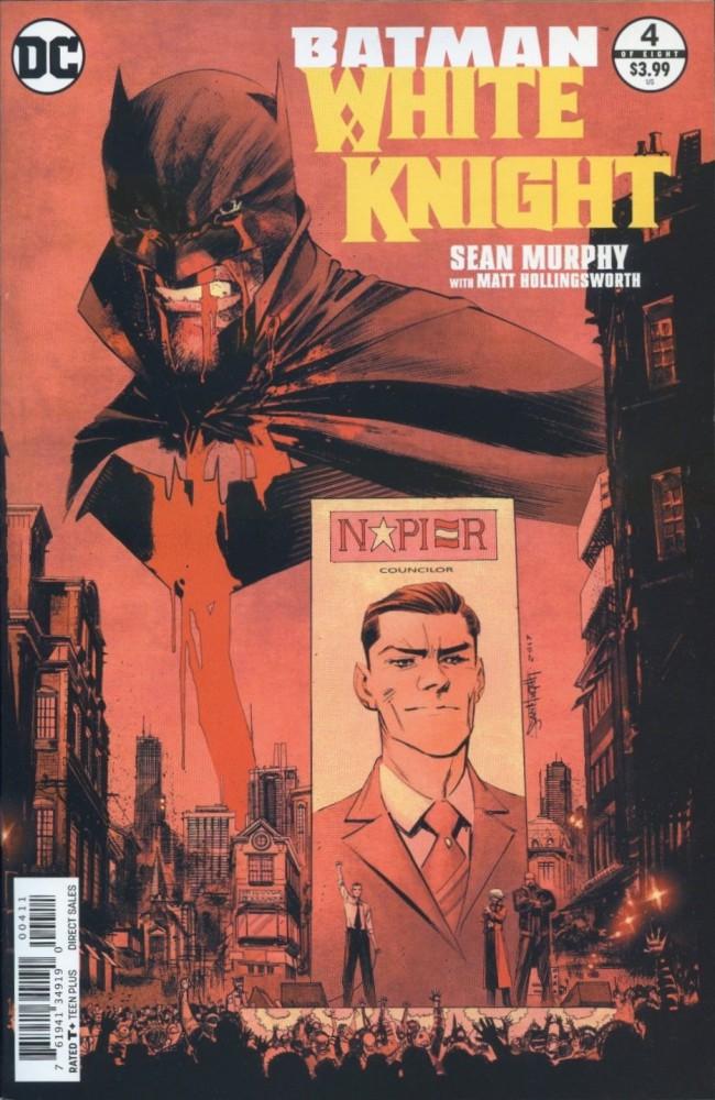 Couverture de Batman: White Knight (2017) -4- Issue 4