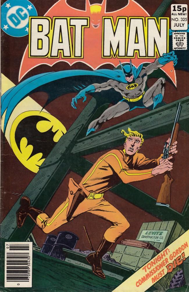 Couverture de Batman (1940) -325a- Death twenty stories high