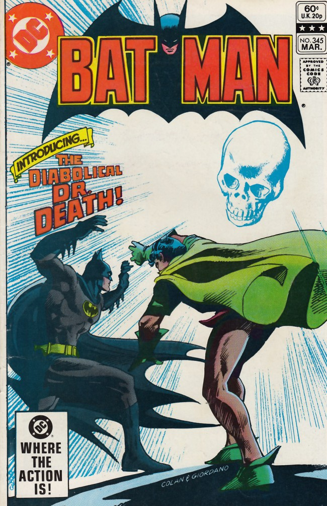 Couverture de Batman (1940) -345- Calling doctor Death