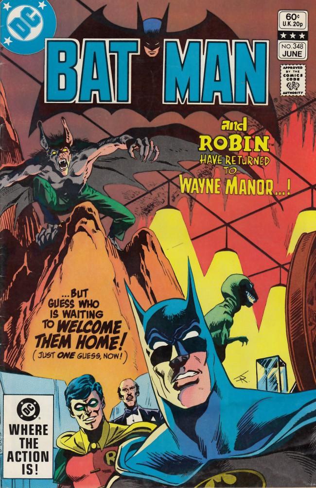 Couverture de Batman Vol.1 (DC Comics - 1940) -348- Shadow play