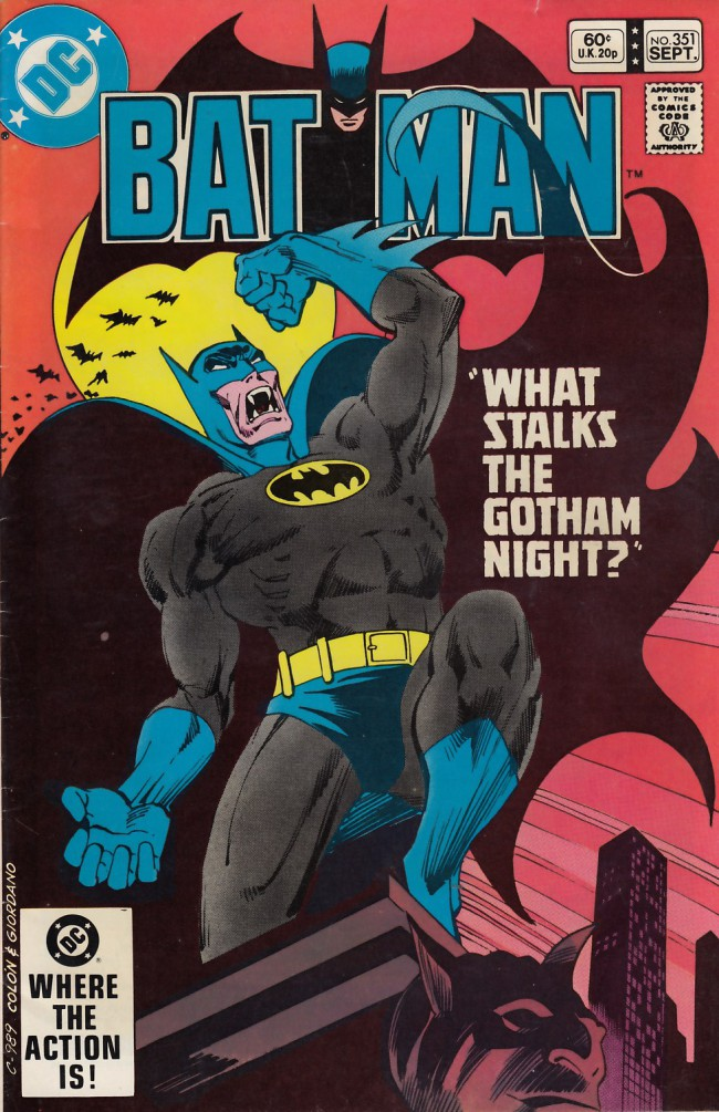 Couverture de Batman (1940) -351- What stalks the Gotham night ?