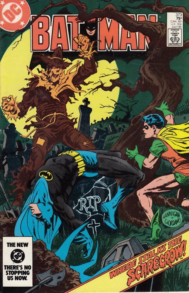 Couverture de Batman (1940) -373- The frequency of fear