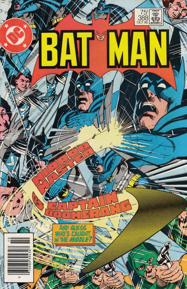 Couverture de Batman Vol.1 (DC Comics - 1940) -388- The round-trip looking glass