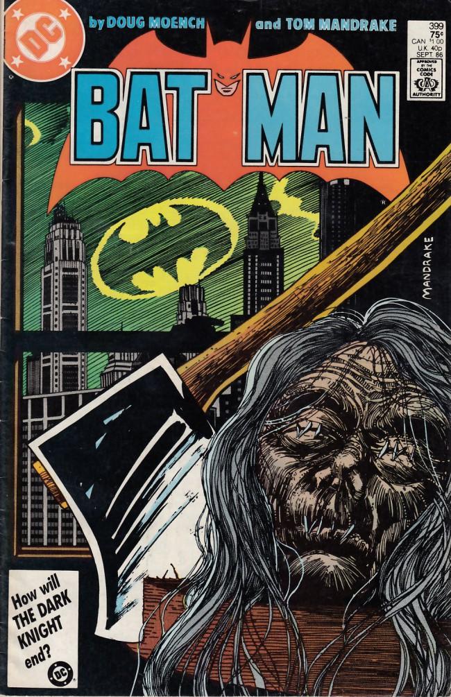 Couverture de Batman Vol.1 (DC Comics - 1940) -399- Strike two