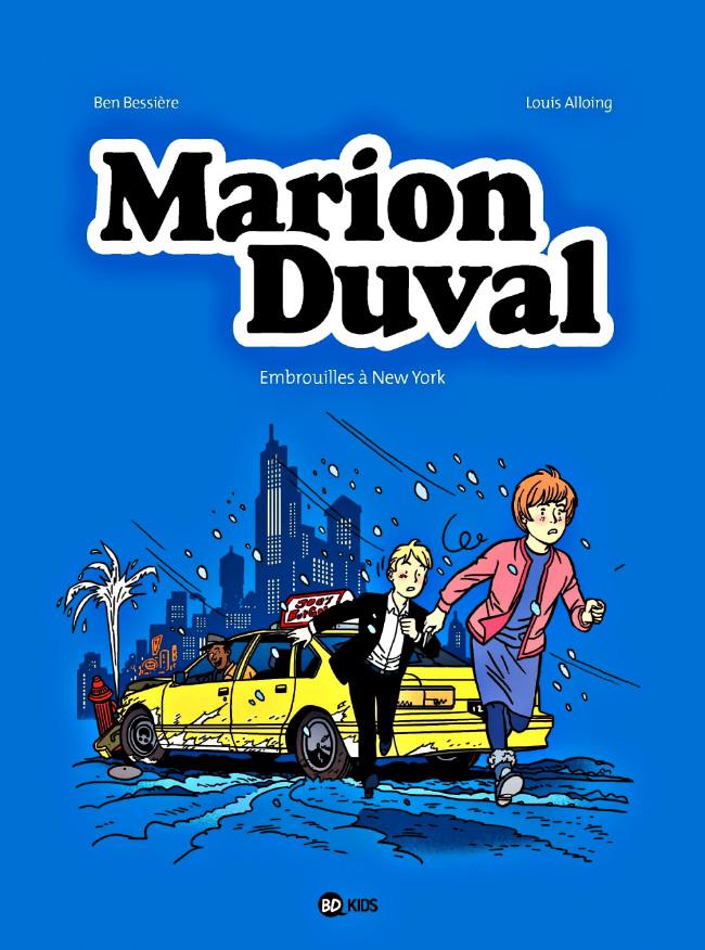 Couverture de Marion Duval -27- Embrouilles à new york