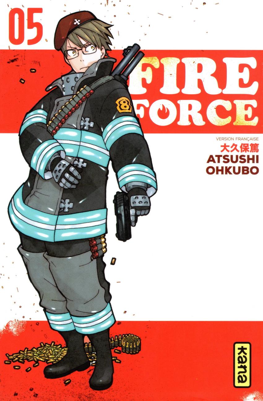 Couverture de Fire Force -5- Tome 5