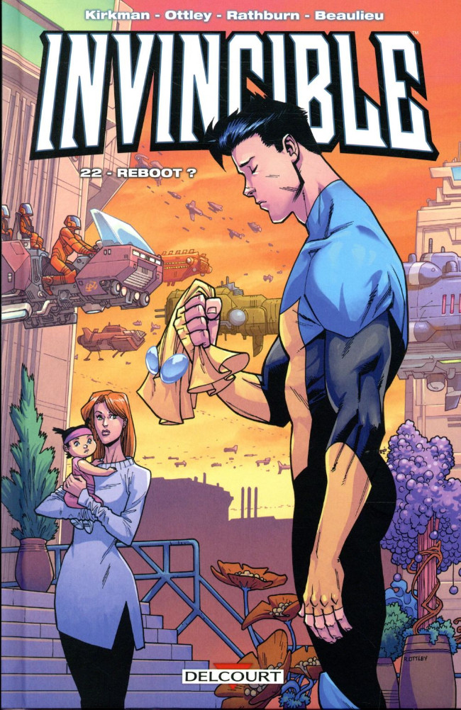 Couverture de Invincible -22- Reboot ?