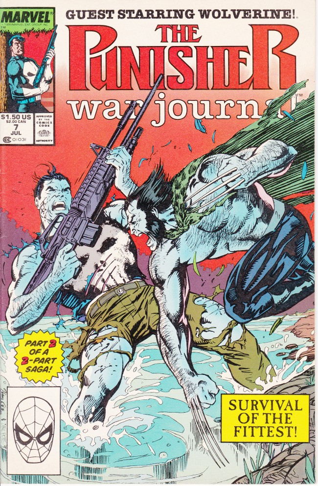 Couverture de Punisher War Journal Vol.1 (Marvel comics - 1988) -7- Endangered Species
